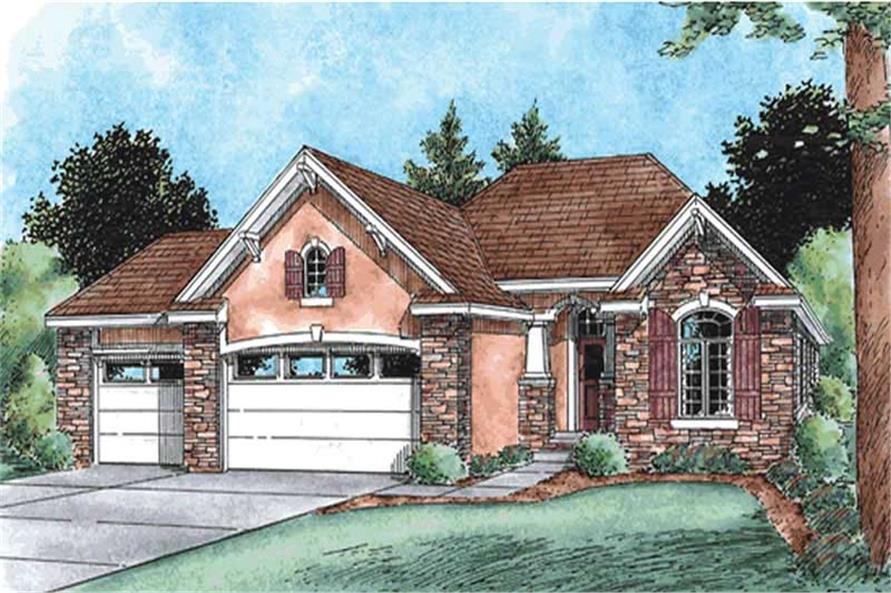 Main image for house plan # 11566