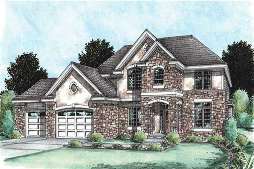 Main image for house plan # 11574
