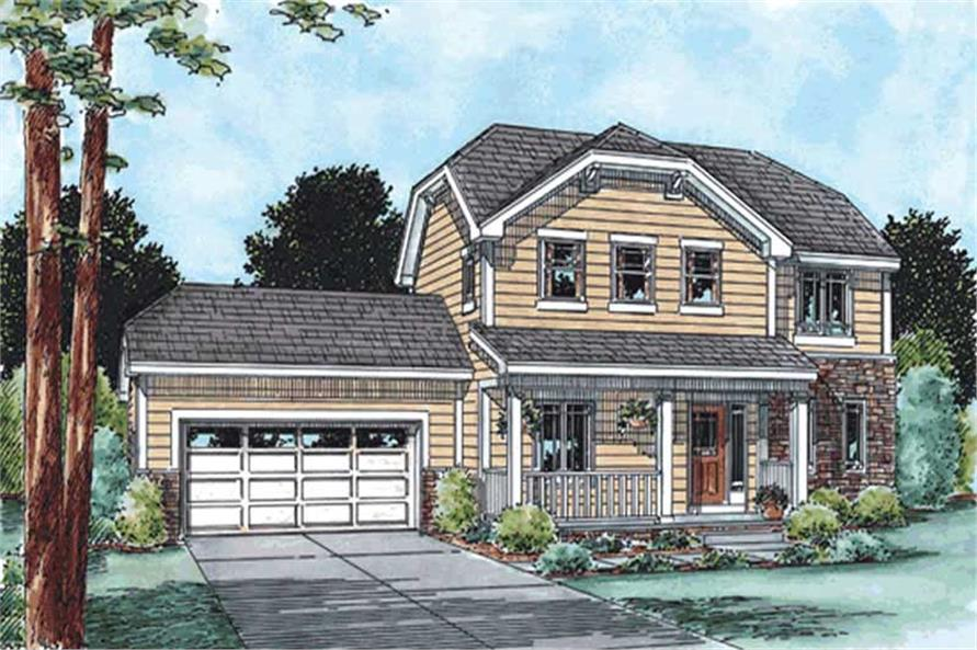 Main image for house plan # 11560