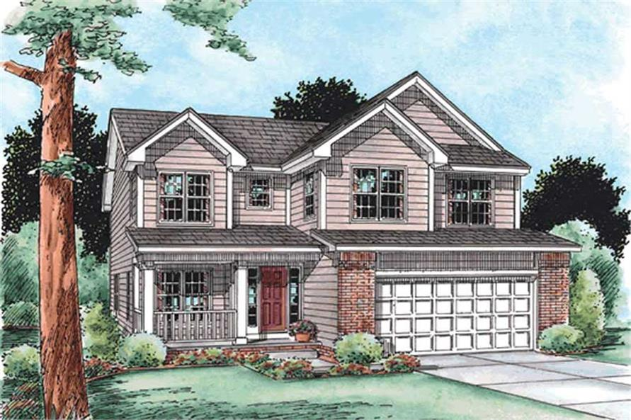 Main image for house plan # 11569