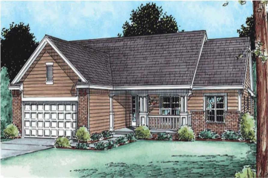 Main image for house plan # 11536