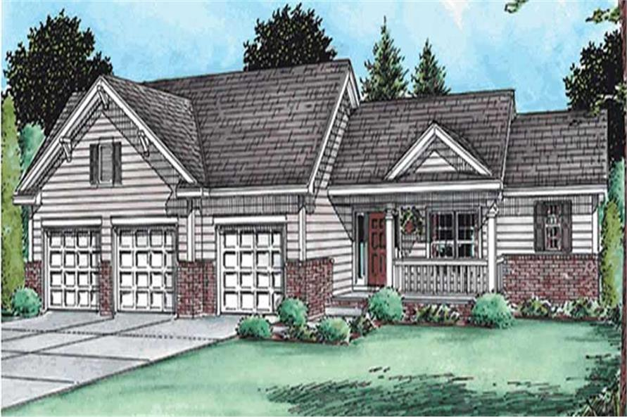 Main image for house plan # 11557