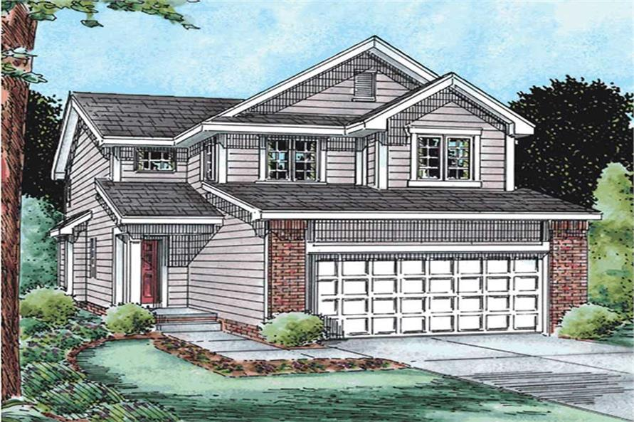 Main image for house plan # 11547