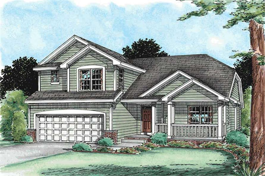 Main image for house plan # 11551