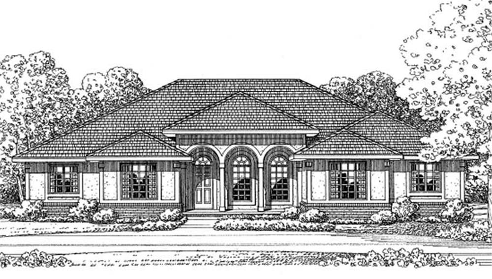 Main image for house plan # 11617