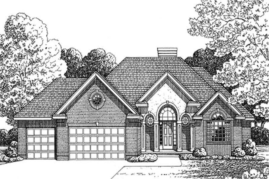2-Bedroom, 1904 Sq Ft Ranch Home Plan - 120-2145 - Main Exterior
