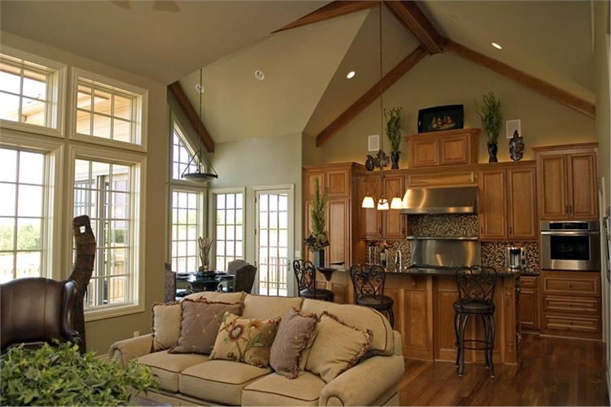 Great Room 1 of this 4-Bedroom,3080 Sq Ft Plan -3080