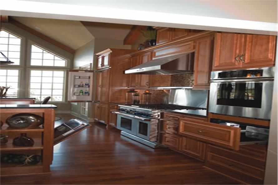 Kitchen of this 4-Bedroom,3080 Sq Ft Plan -3080