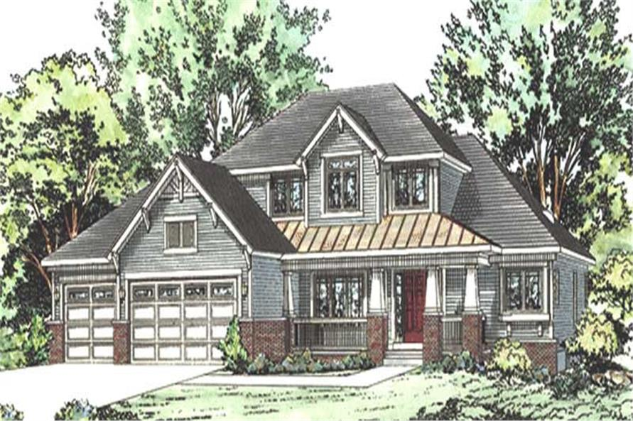 Main image for house plan # 11598