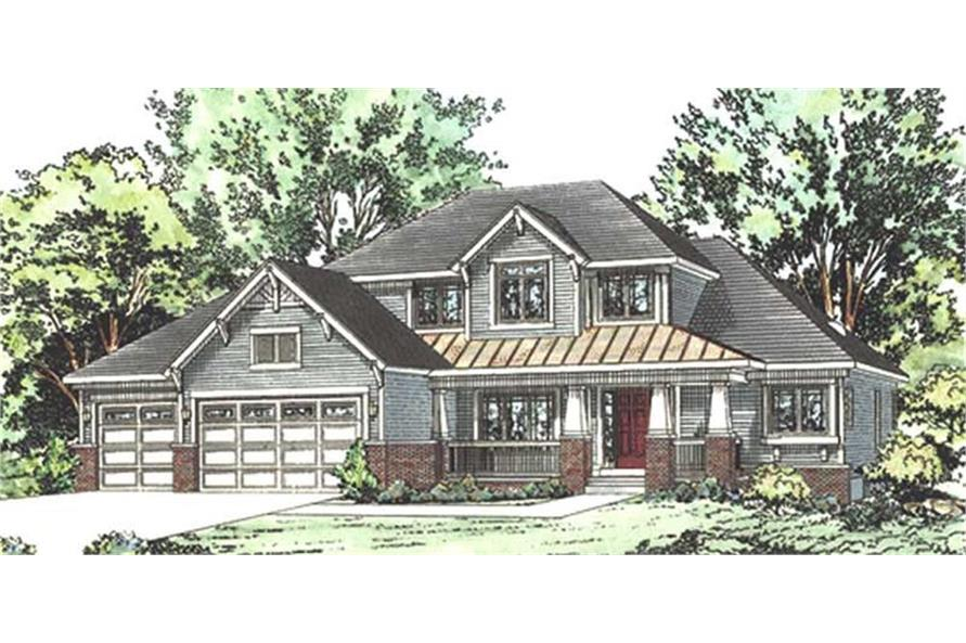 120-2166: Home Plan Rendering