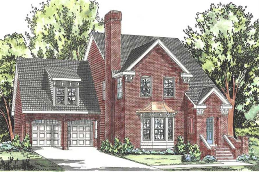 Main image for house plan # 11597