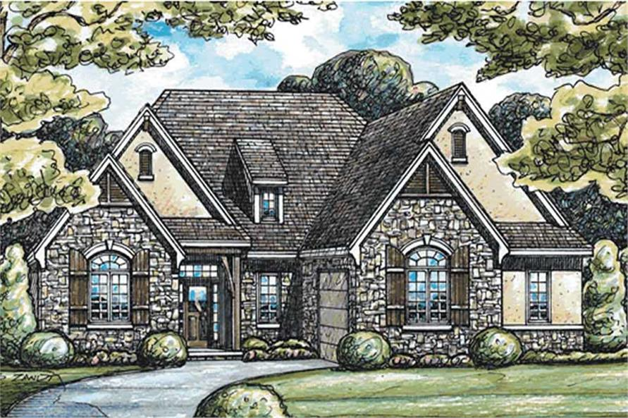 Main image for house plan # 11674