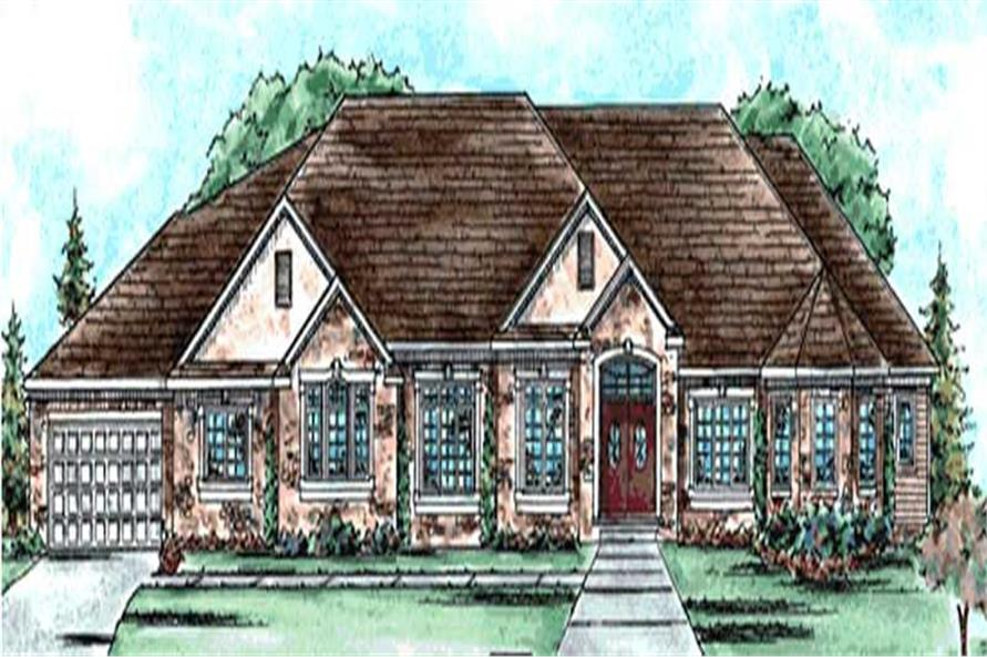 Main image for house plan # 11681