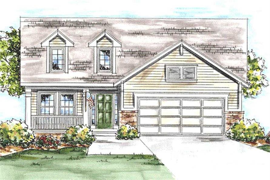 Main image for house plan # 11699