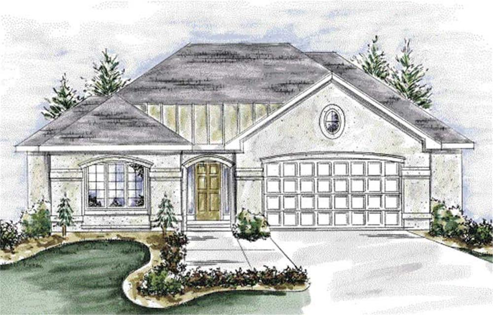 Main image for house plan # 11704