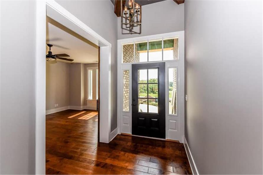 Entry Hall: Foyer of this 4-Bedroom,2607 Sq Ft Plan -120-2230