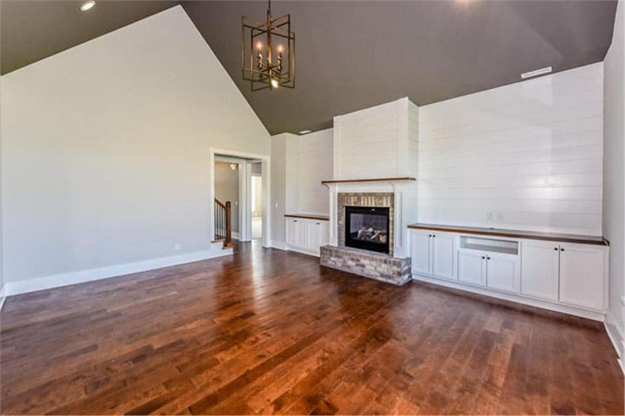 Great Room: Fireplace of this 4-Bedroom,2607 Sq Ft Plan -120-2230