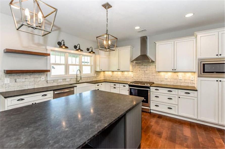 Kitchen: Kitchen Island of this 4-Bedroom,2607 Sq Ft Plan -120-2230