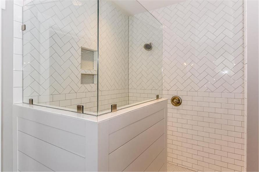 Master Bathroom: Shower of this 4-Bedroom,2607 Sq Ft Plan -120-2230