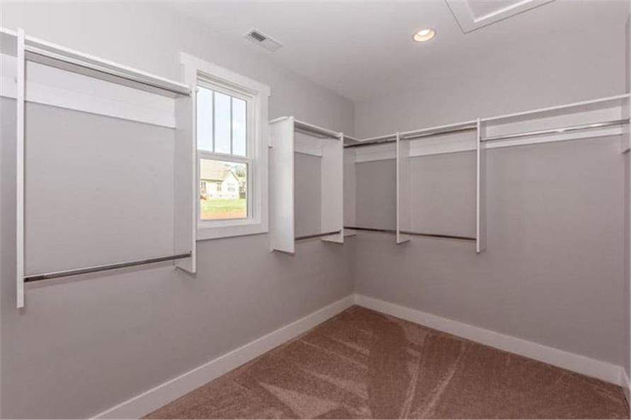 Master Bedroom: Closet of this 4-Bedroom,2607 Sq Ft Plan -120-2230