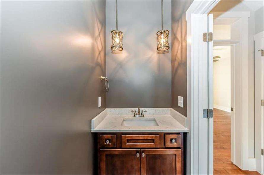 Powder Room of this 4-Bedroom,2607 Sq Ft Plan -120-2230