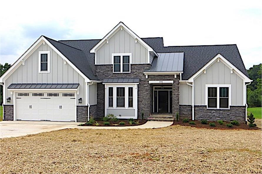 Front View of this 4-Bedroom,2607 Sq Ft Plan -2607