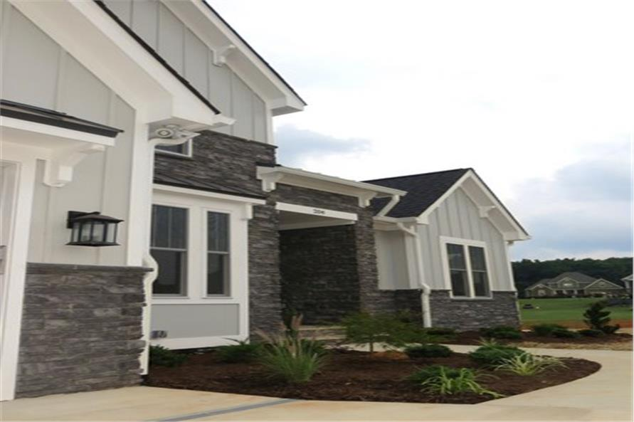 Front Door of this 4-Bedroom,2607 Sq Ft Plan -2607