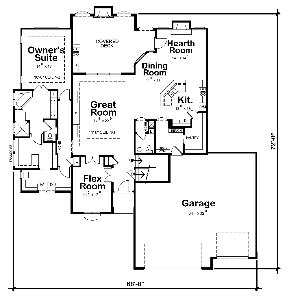 4 bedrm 3553 sq ft tuscan house plan 120 2456 for 120 square yards floor plan