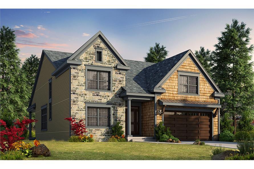 2 Bedrm, 2528 Sq Ft Craftsman House Plan #120-2467