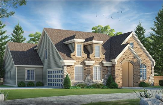 House Plan #55844