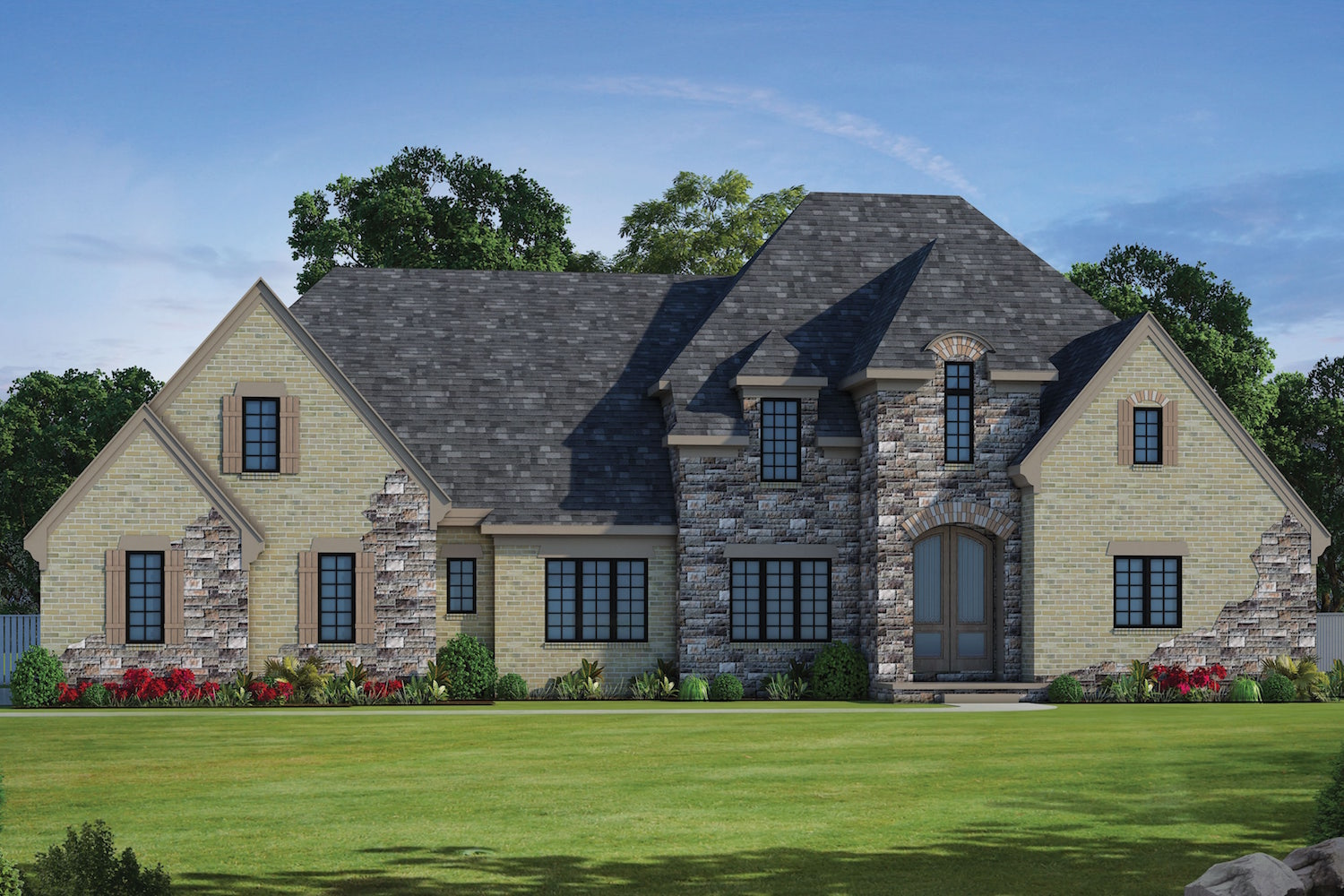 5 bedrm 4123 sq ft french house plan 120 2491 for French house plans