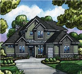 House Plan #120-2521