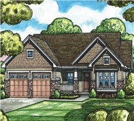 House Plan #120-2526