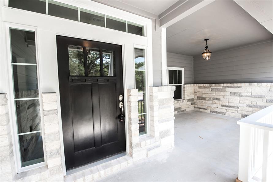 Front Door of this 3-Bedroom,2407 Sq Ft Plan -2407