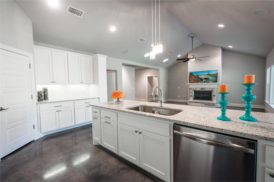 Kitchen of this 3-Bedroom,2407 Sq Ft Plan -2407