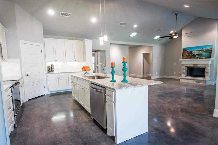 Great Room of this 3-Bedroom,2407 Sq Ft Plan -2407
