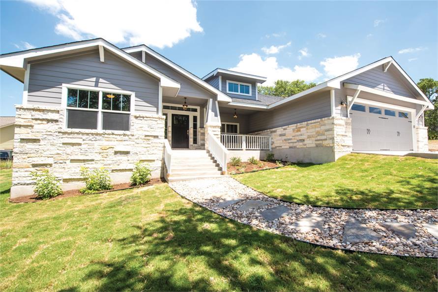 3-Bedroom, 2407 Sq Ft Ranch Home Plan - 120-2530 - Main Exterior