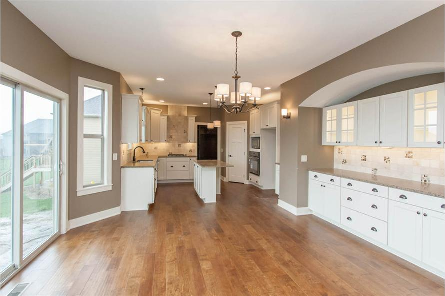 Dining Room of this 4-Bedroom,2377 Sq Ft Plan -2377