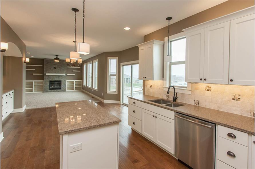 Kitchen of this 4-Bedroom,2377 Sq Ft Plan -2377