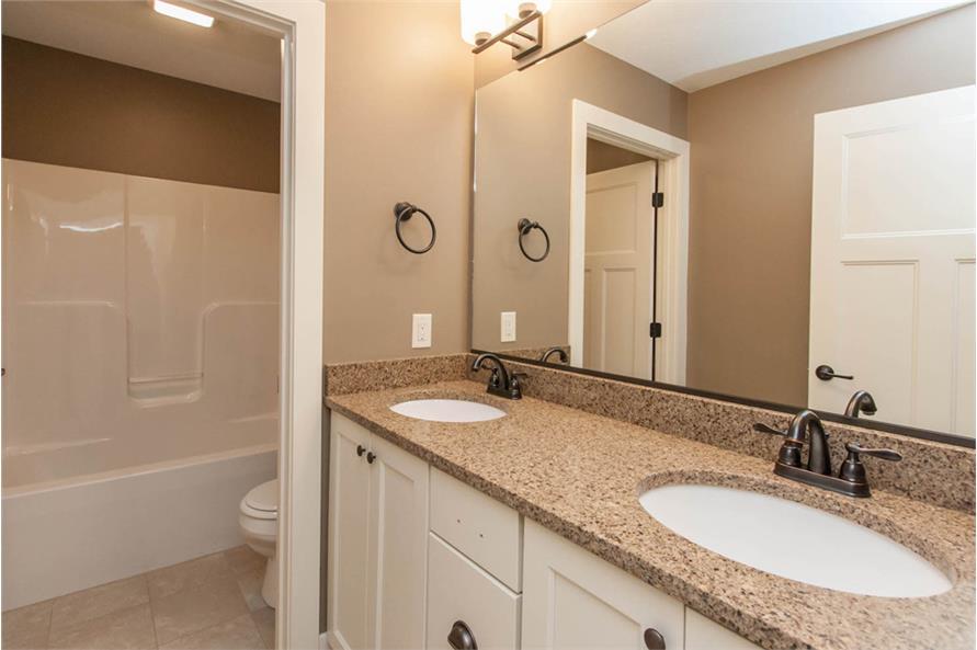 Bathroom of this 4-Bedroom,2377 Sq Ft Plan -2377