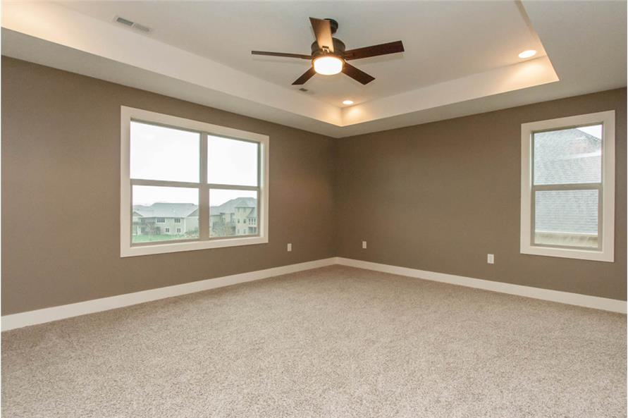 Master Bedroom of this 4-Bedroom,2377 Sq Ft Plan -2377