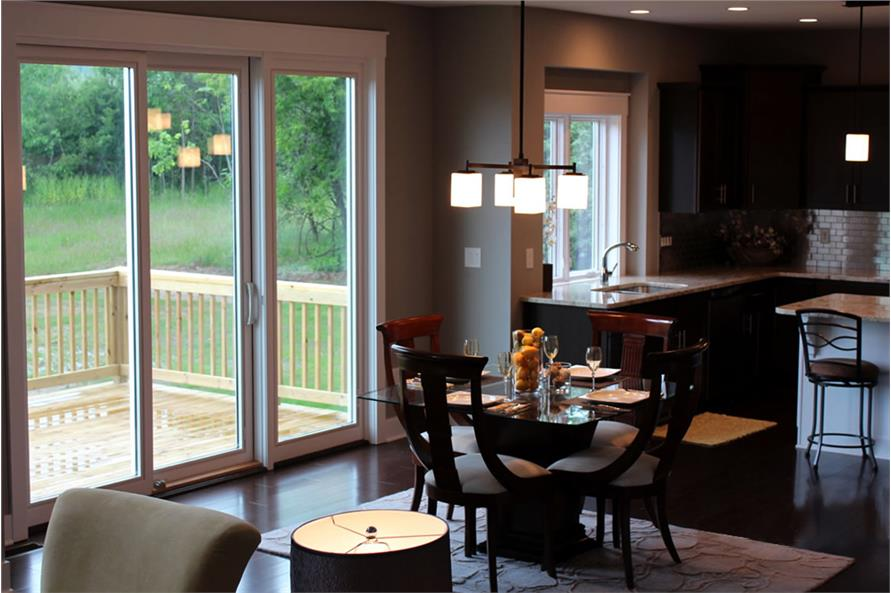 Dining Room of this 4-Bedroom,2495 Sq Ft Plan -2495