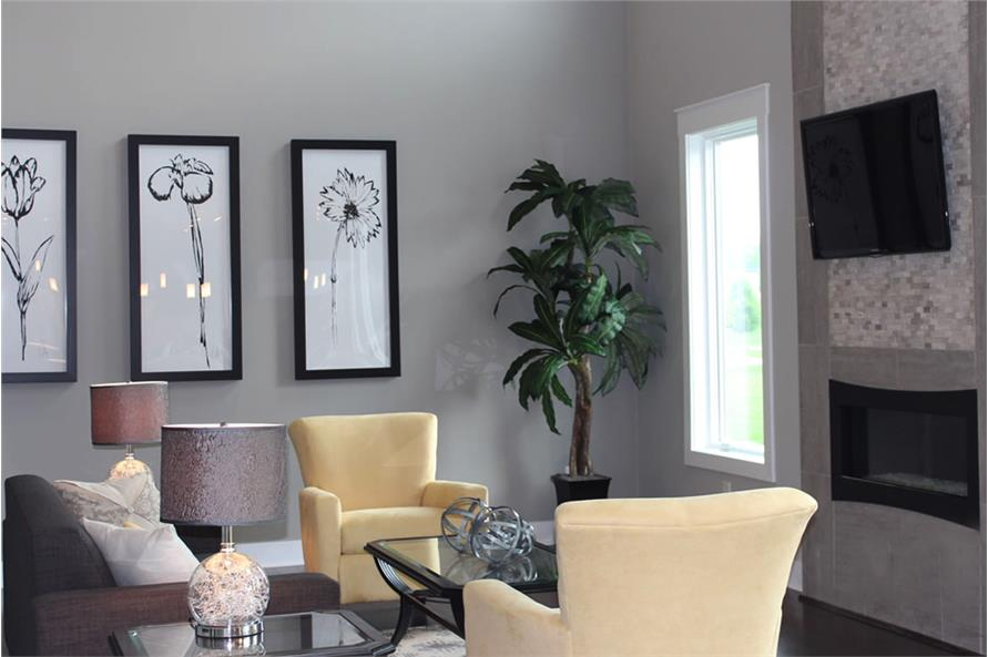 Great Room of this 4-Bedroom,2495 Sq Ft Plan -2495