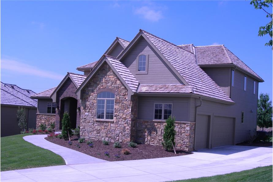Right Side View of this 4-Bedroom,2495 Sq Ft Plan -2495