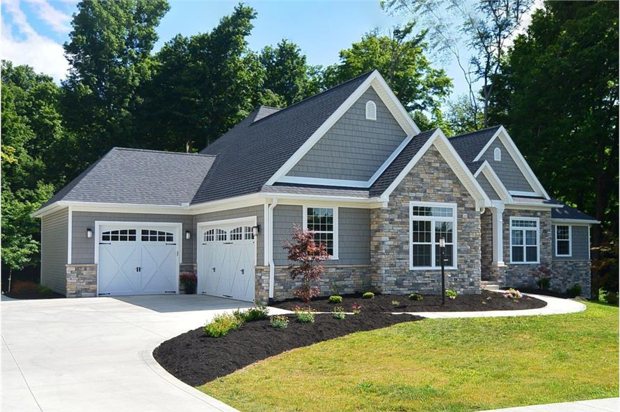 Home Exterior Photograph of this 3-Bedroom,2449 Sq Ft Plan -120-2548