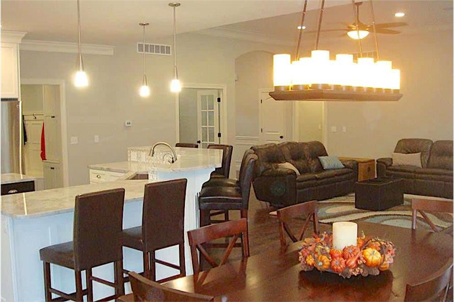 Dining Room of this 3-Bedroom,2449 Sq Ft Plan -2449