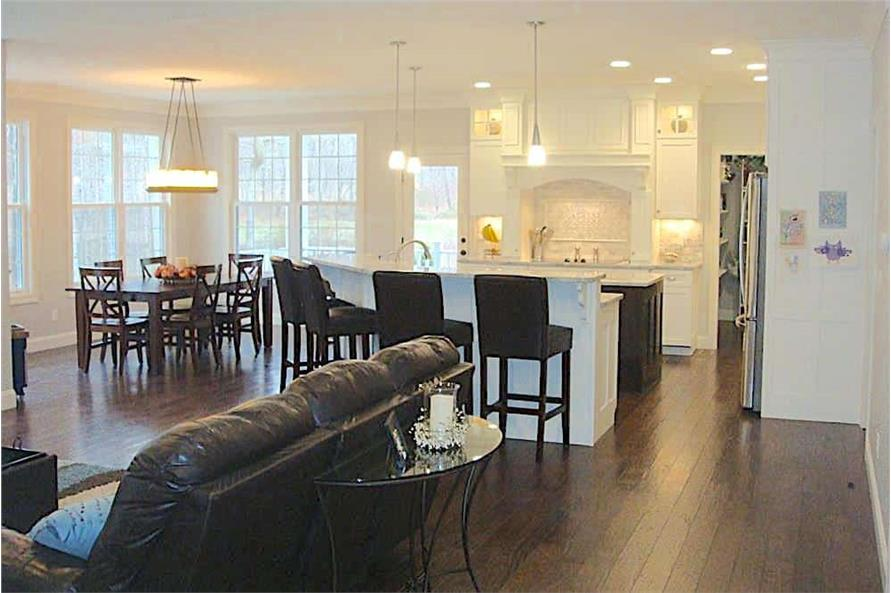 Great Room of this 3-Bedroom,2449 Sq Ft Plan -2449