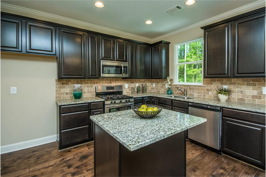 Kitchen of this 3-Bedroom,1635 Sq Ft Plan -1635