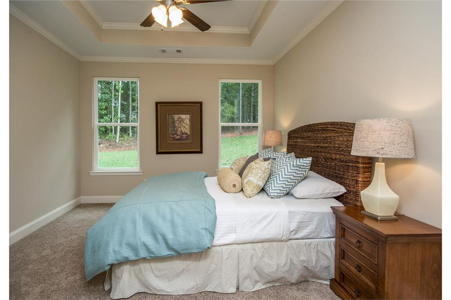 Master Bedroom of this 3-Bedroom,1635 Sq Ft Plan -1635