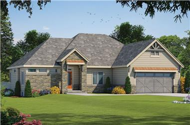 3-Bedroom, 1938 Sq Ft Ranch House - #120-2586 - Front Exterior
